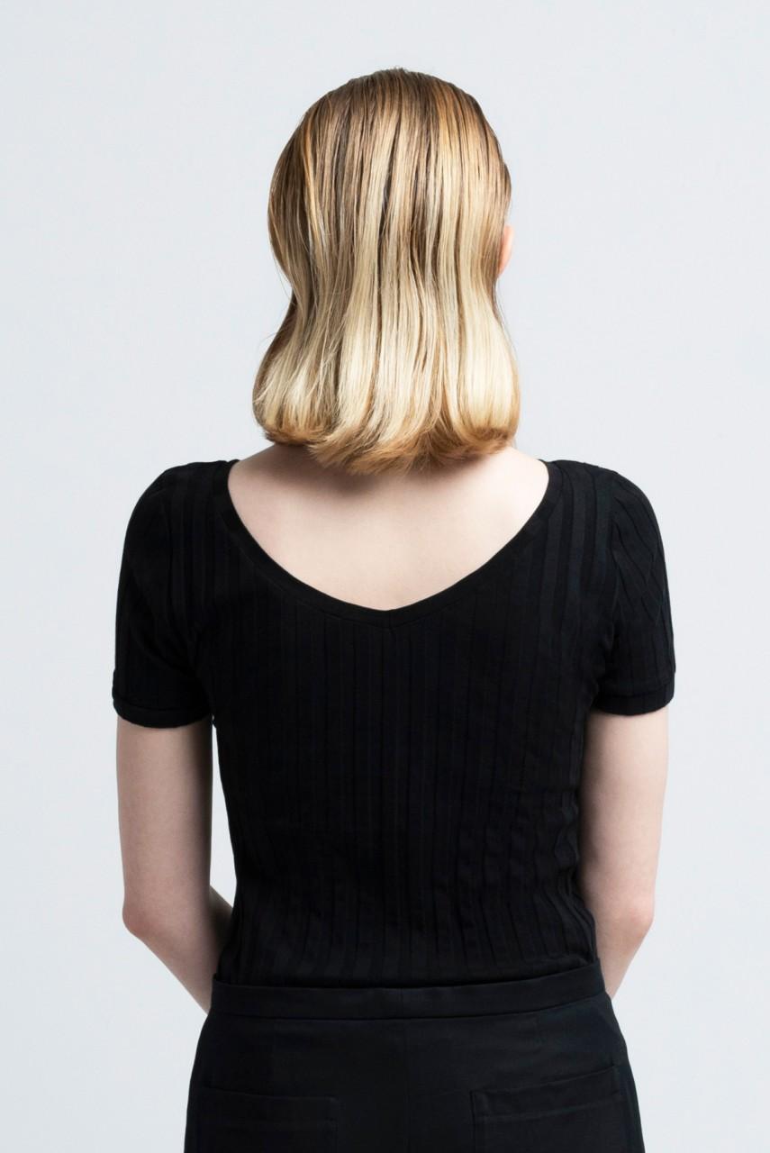 CORA SHIRT cotton black