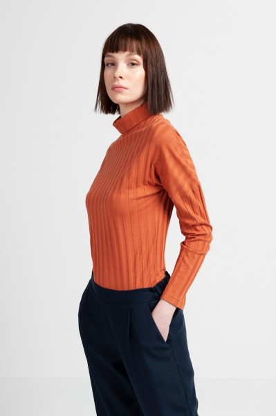 AUDREY SHIRT cotton rust
