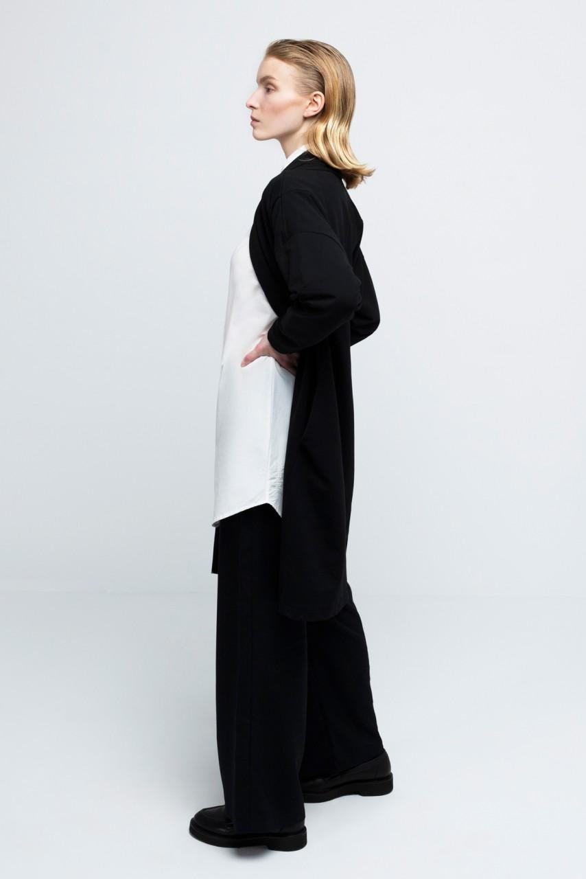 EILEEN COAT cotton black
