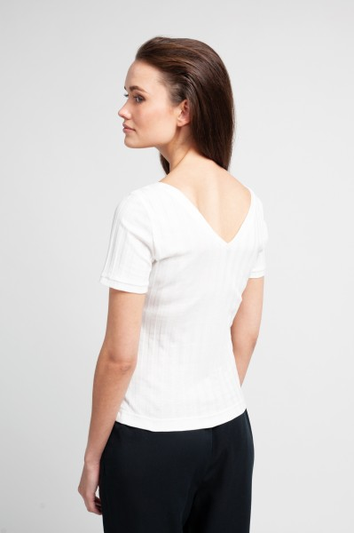 CORA SHIRT cotton white