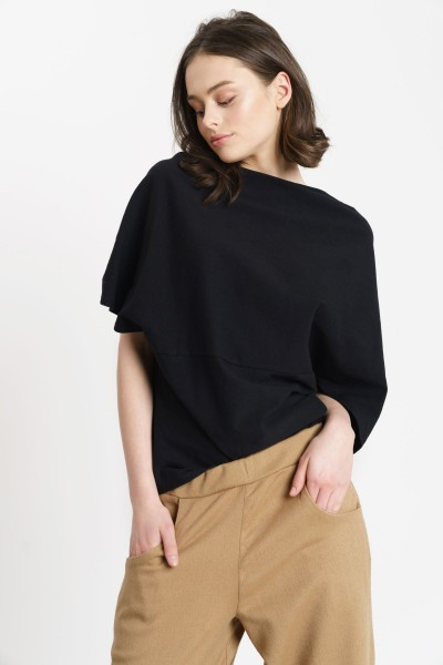 susan draped blouse 1